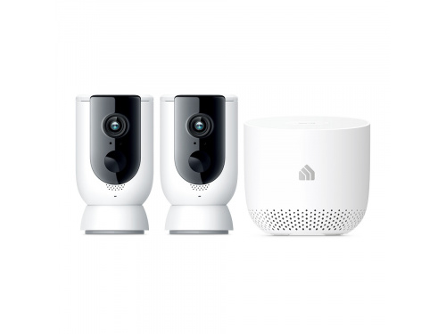 TP-Link KC300S2 Kasa Smart Wire-Free 1080p Outdoor Camera System  - 2 Camera Pack